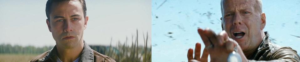 Looper Joseph Gordon-Levitt Bruce Willis