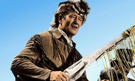 John Wayne en El Álamo