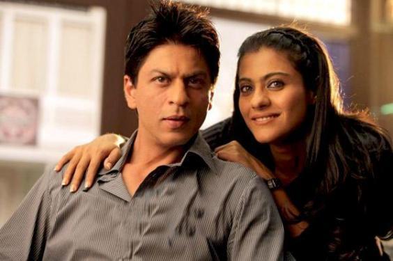 """Shahrukh Khan y Kajol en foto de la Película """"Mi nombre es Khan"""""""