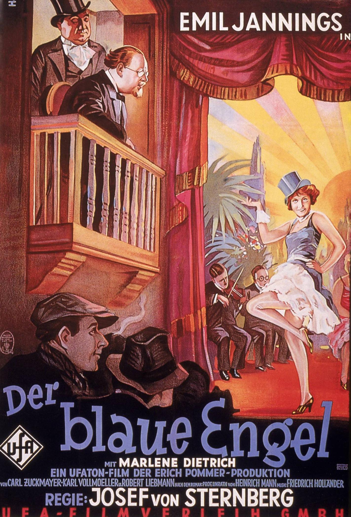 Der Blaue Engel Poster