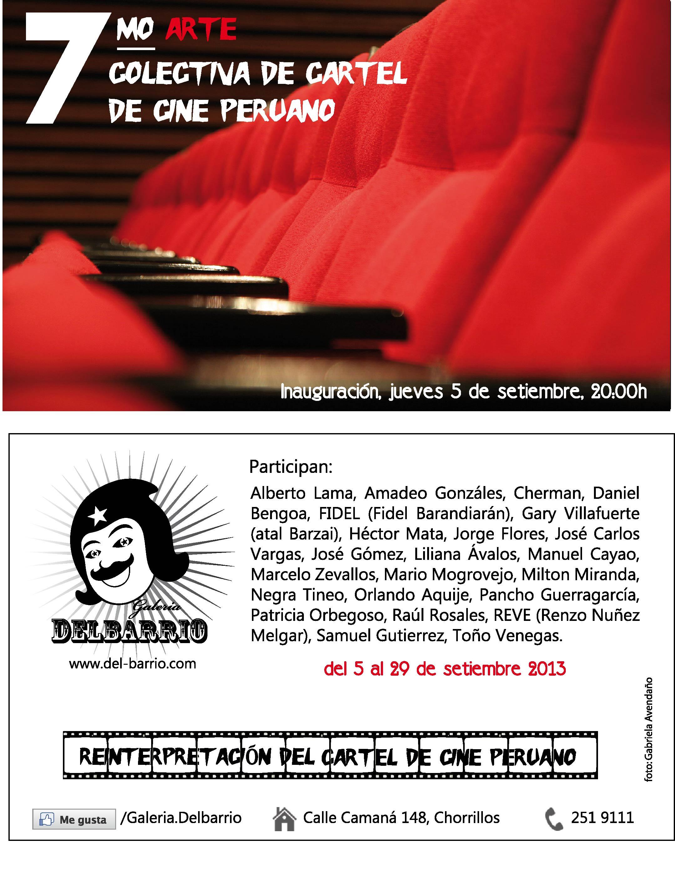 Cartel de Cine peruano