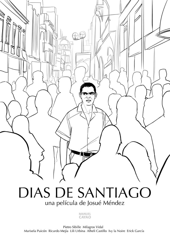 Dias de Santiago de Manuel Cayao