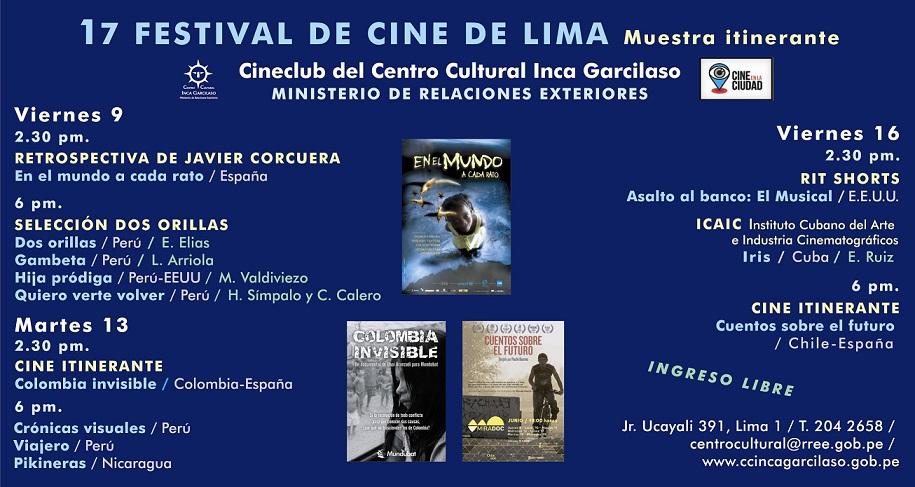 Flyer cine Agosto