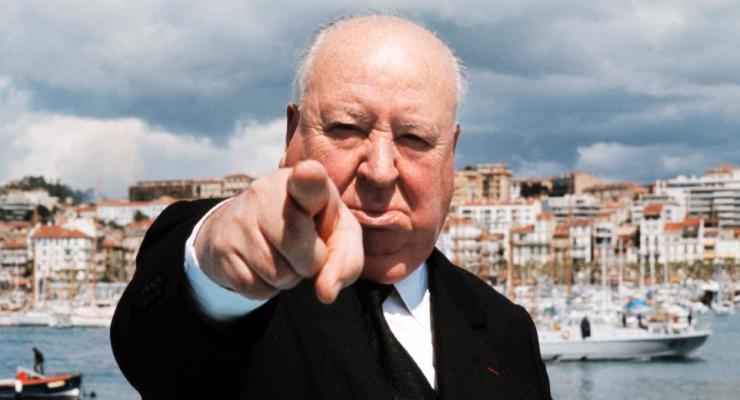 Las fotos de Alfred Hitchcock