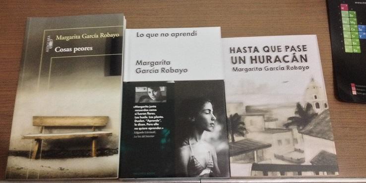 Libros de Margarita García Robayo