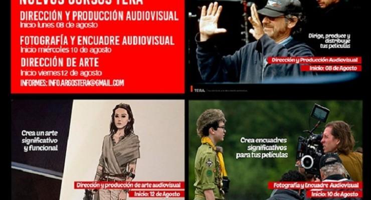 TERA, escuela de realización audiovisual inicia su temporada de cursos libres este Lunes 8 de Agosto