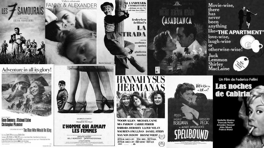 Top 10 de Cine de todos los tiempos